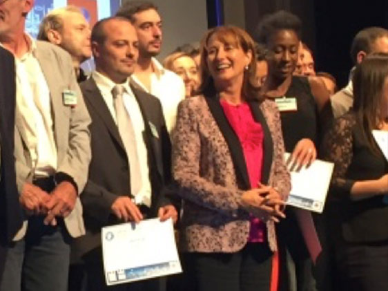 Das Thermodrap-Projekt von Plastrance wurde von Umweltministerin Ségolène Royal im Rahmen des Zukunftsinvestitionsprogramms 2016 der ADEME ausgezeichnet.
