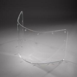 Schutzverglasung aus PMMA für eine U-Boot-Kamera