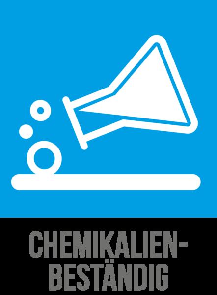 Beständigkeit gegenüber Chemikalien der Cleargard Sicherheitsscheiben